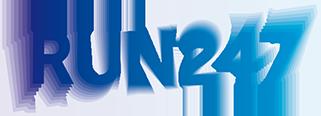 Run247 logo