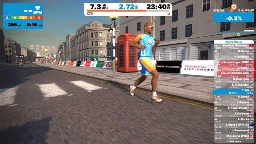 Zwift aim to revolutionise running