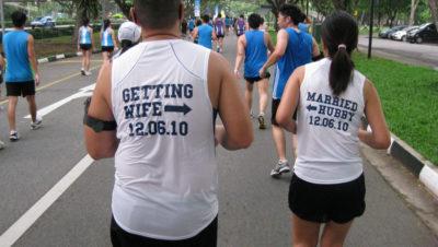 Singapore wedding runners