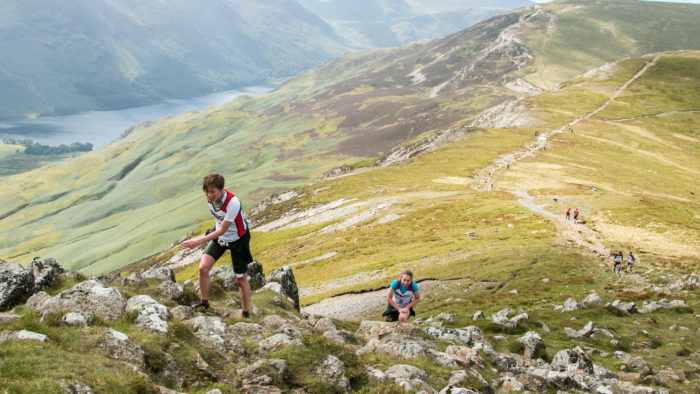 Breca swimrun Buttermere