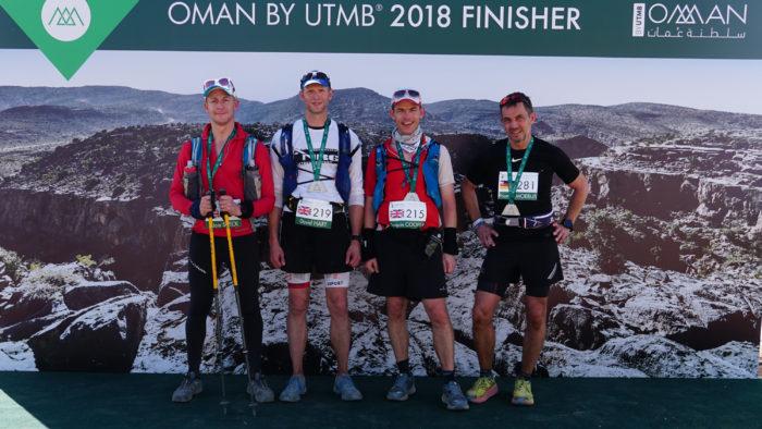 Finish Oman by UTMB
