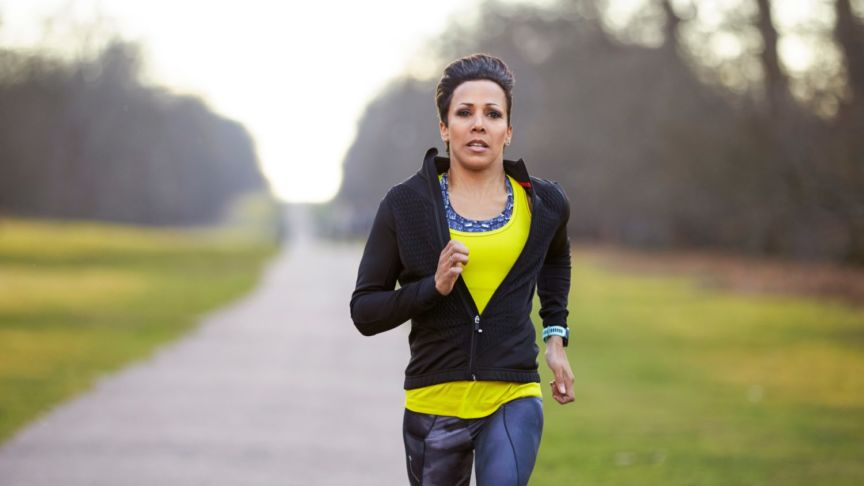 Kelly Holmes My First Marathon