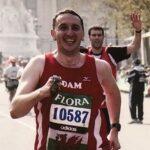 Adam Davies my first marathon