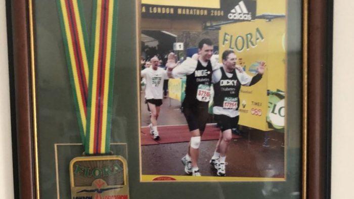 Nigel Gurney First Marathon