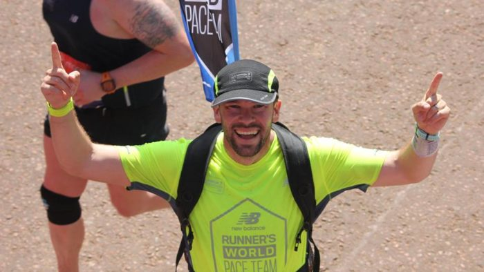 Paul Addicott First Marathon