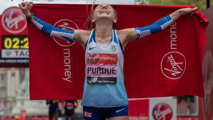 Charlotte Purdue London Marathon 2019