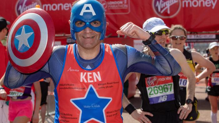 London Marathon record breaker