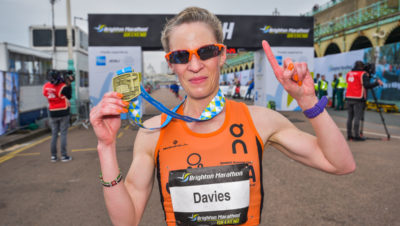 Helen Davies Brighton Marathon 2018