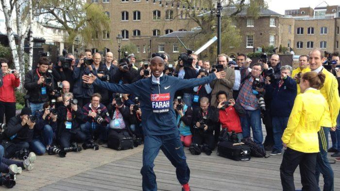 Mo Farah London Marathon