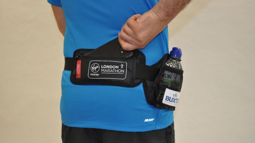 London Marathon bottle belt trial