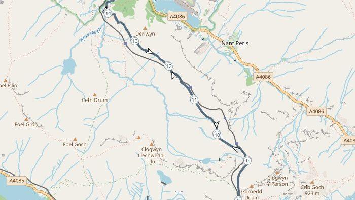 Snowdon24 route