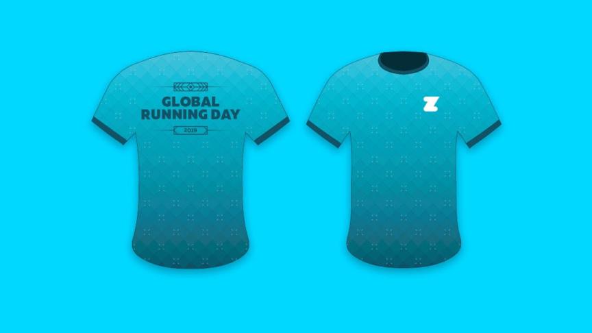 Zwift Global Running Day