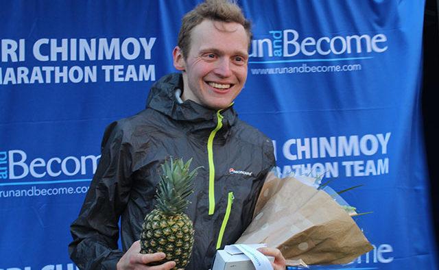Kris Jones winner Scottish 5k road championships