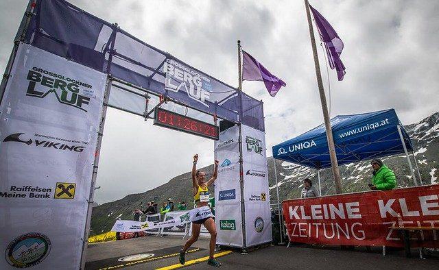 Sarah Tunstall GrossGlockner mountain running