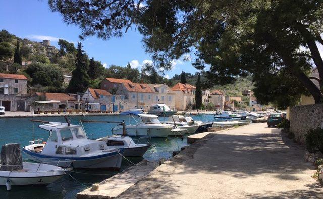The port at Brac