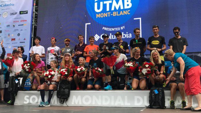 UTMB podium