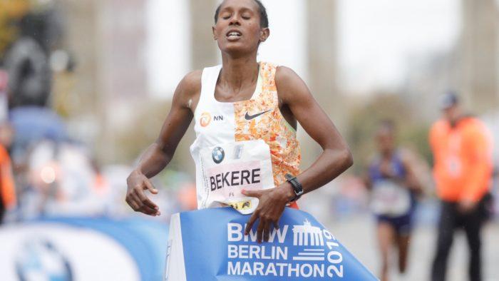 Ashete Bekere Berlin Marathon