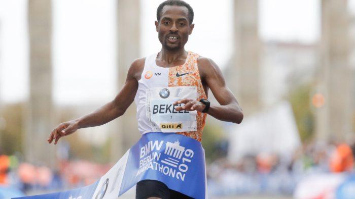 Berlin Marathon Kenenisa Bekele