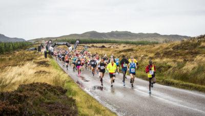 Loch Ness Marathon start