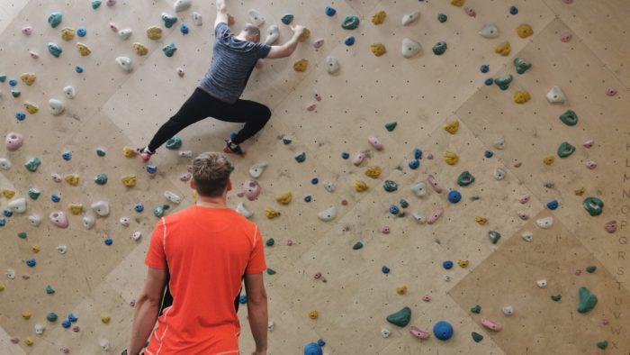 Climbing at Yonder