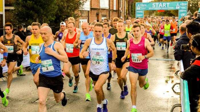 Chester Marathon start 2019