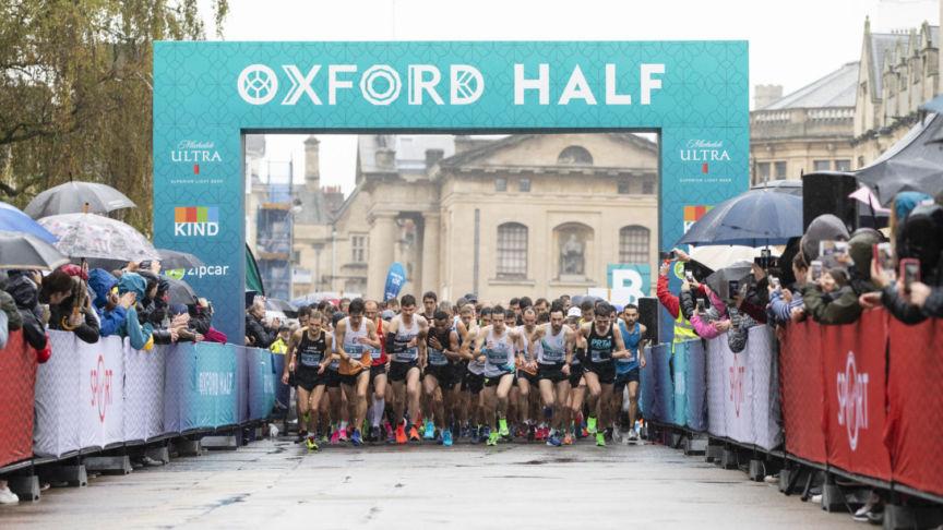 Oxford Half Marathon goes plastic free