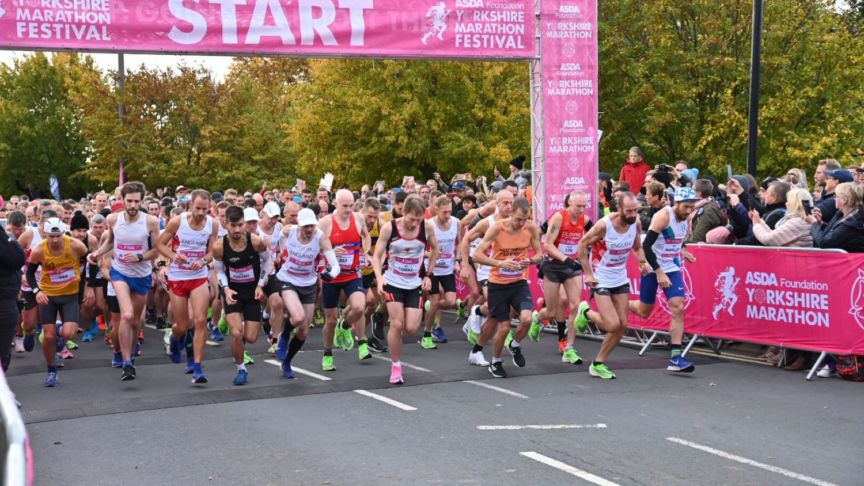 Yorkshire Marathon start