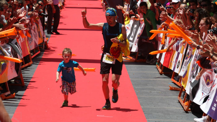 ultra running children Transgrancanaria