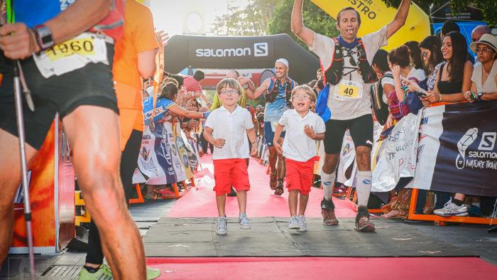 ultra running children at Transgrancanaria