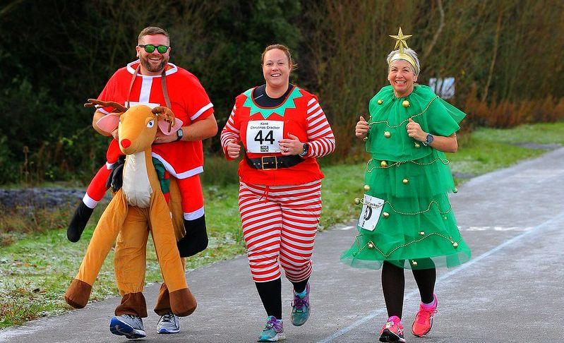 Christmas fancy dress runners