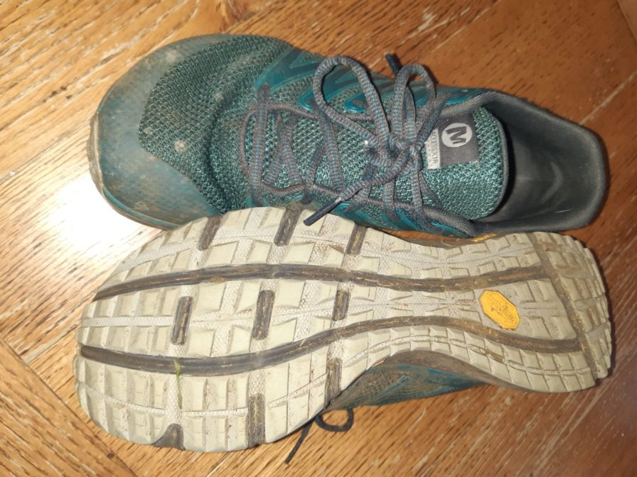 Top and bottom image of Merrell Bare Access XTR shoe
