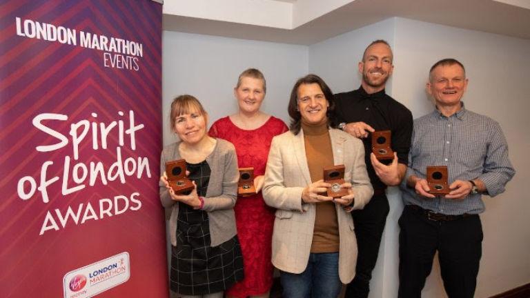 Five Runners Receive 2019 Spirit of the London Marathon Award