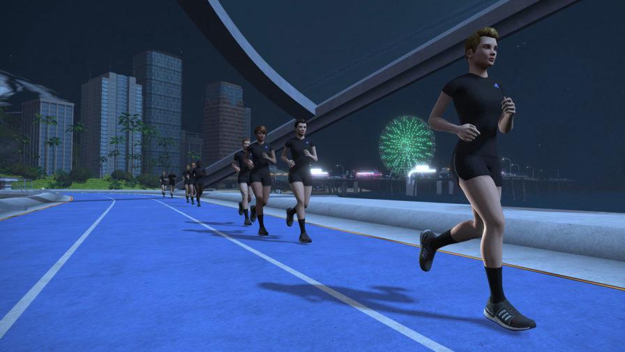 zwift running