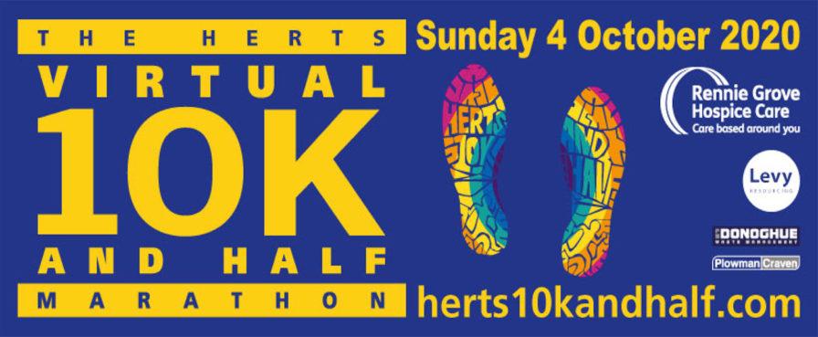 The Virtual Herts 10k and Half Marathon