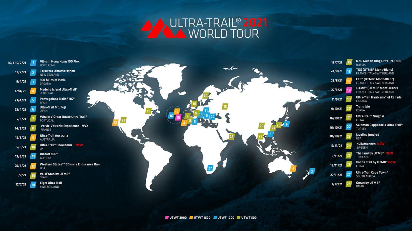 2021 UTWY Map