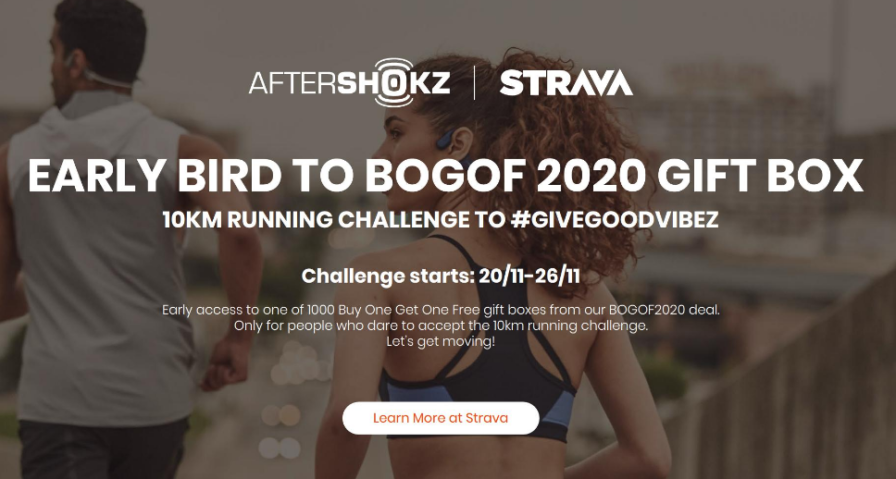 Aftershokz Strava Challenge