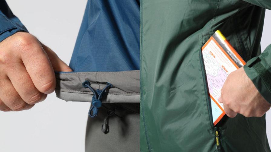 Montane Meteor Jacket Pockets and hem
