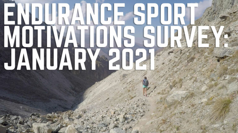 Endurance Sport Motivations Survey: January 2021