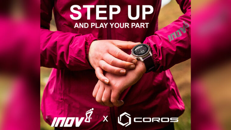 inov-8 and COROS Wearables seek participants for '21 million step' mental health challenge