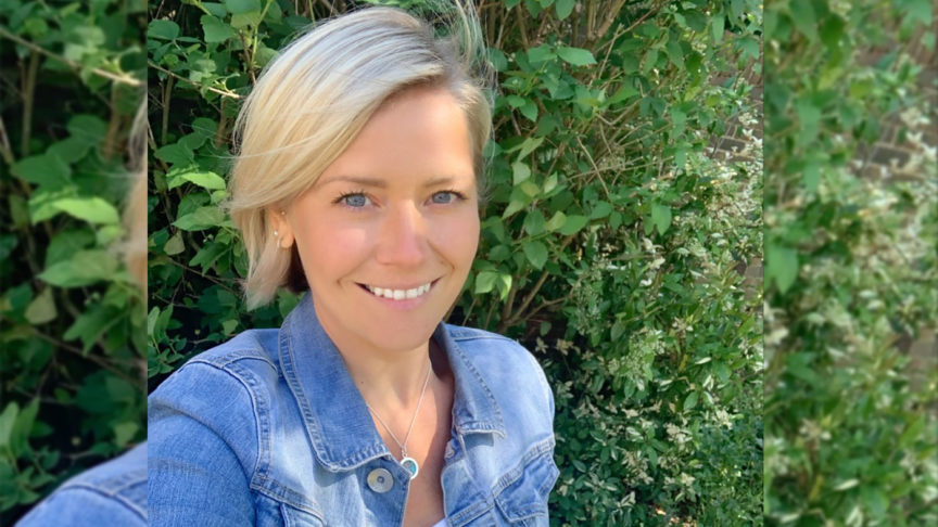 Suzanne Shaw runs for Samaritans