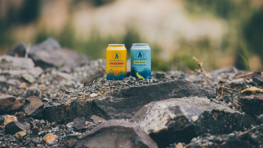 Athletic Brewing and Spartan
