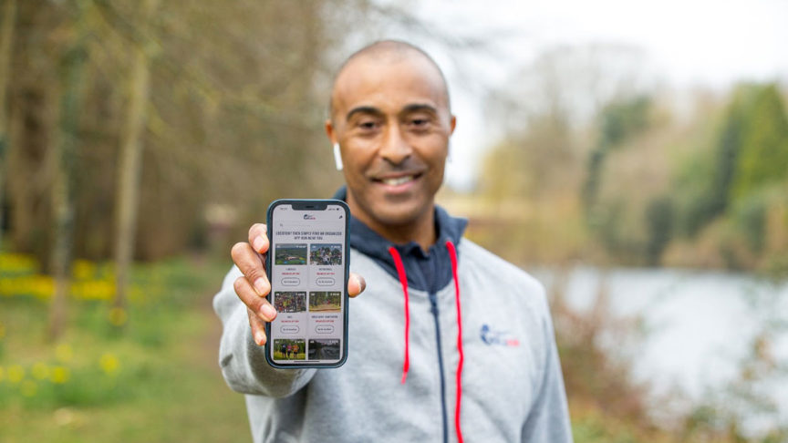 Wings for Life Colin Jackson