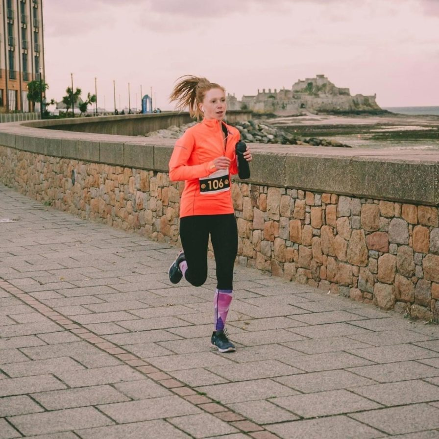 Inspire runner Rebecca Harris