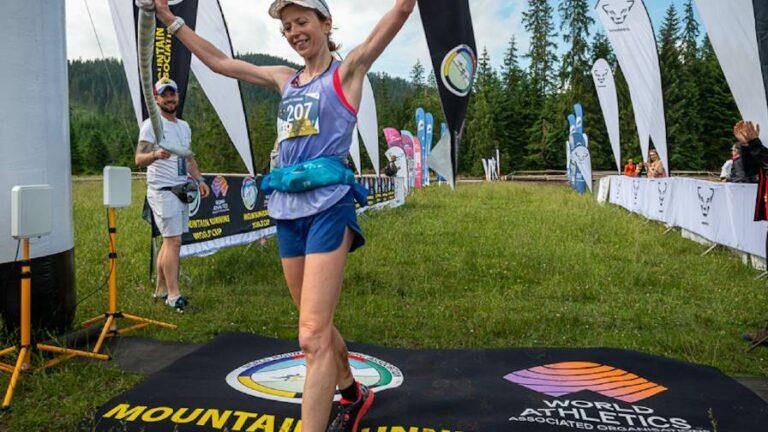 Tatra Race Run 2021: Britain's Charlotte Morgan claims victory
