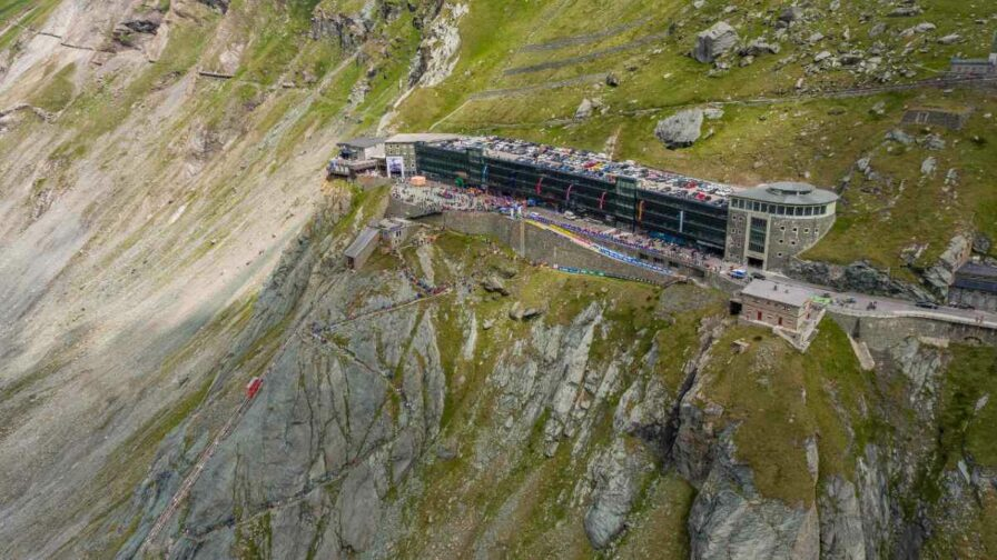 Grossglockner Berglauf finish line