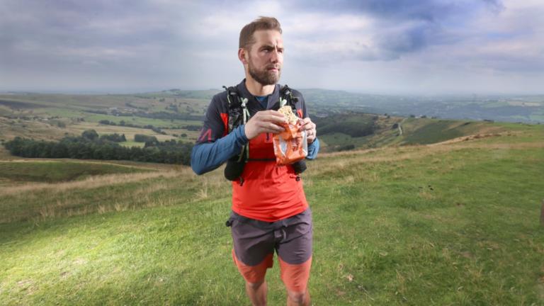 Pie-fueled trail runner raising money for hospice